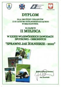 sprawni jak żołnierze 2010